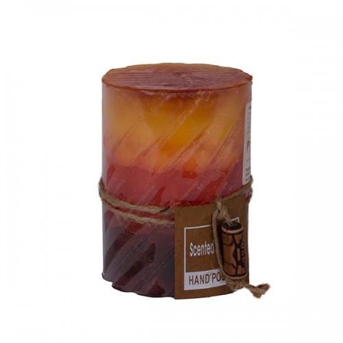 Свеча 10х7,5х7,5 см
