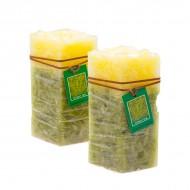 Свеча Зеленый чай 15х8.5х5.5 см