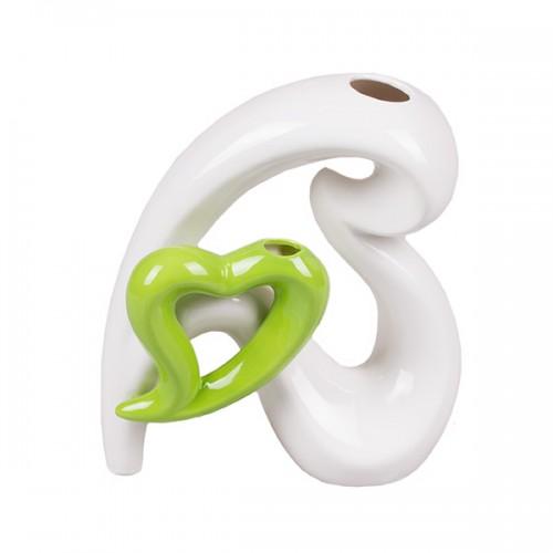 Ваза декоративная Сердечная забота 21х18см