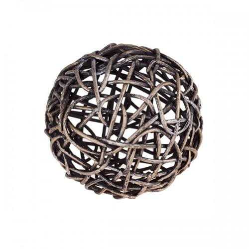 Клубок плетёный 10 см