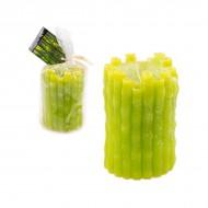 Свеча зелёная 10х6 см