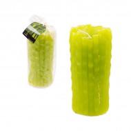Свеча зелёная 14.5х6 см