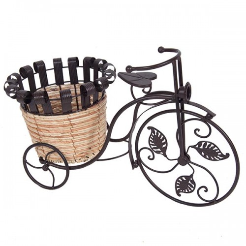 Подставка под цветы Велосипед 49х32х24 см