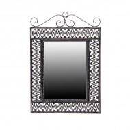 Зеркало настенное металлическое 62х43 см