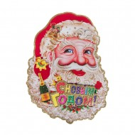 Панно Дед мороз 33х26 см