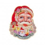 Панно Дед мороз 43х33 см