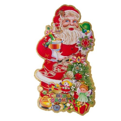 Панно Дед мороз 58х36 см