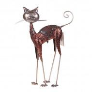 Статуэтка металлическая Кошка 41х24х5 см