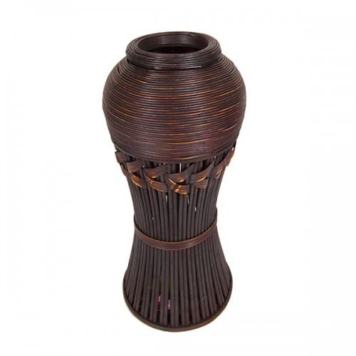 Ваза плетёная декоративная 54 см