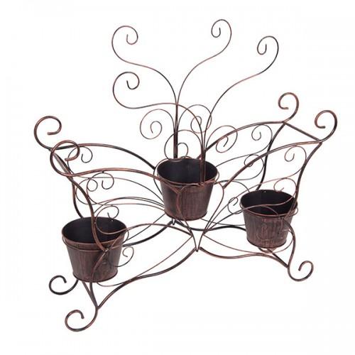 Подставка для цветов с 3 кашпо 80х61х19 см