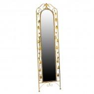 Зеркало напольное металлическое 180х45 см