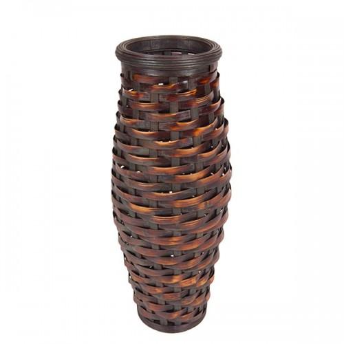 Ваза напольная плетёная декоративная 67 см