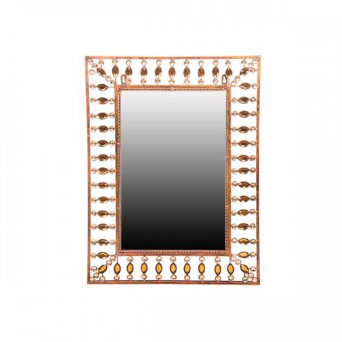 Зеркало настенное металлическое 63х47 см