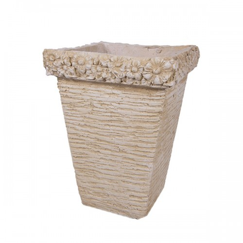 Ваза садовая шамот 30х30х38 см