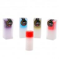 Свеча меняющая цвет 12х5 см