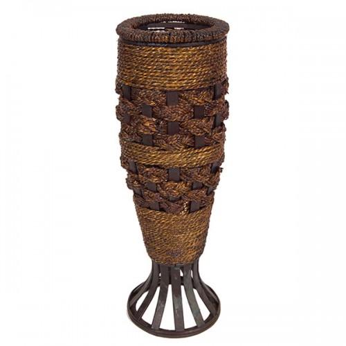 Ваза плетёная декоративная 57 см