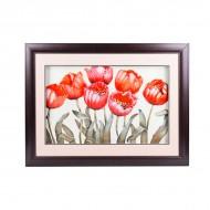 Панно настенное Тюльпаны 58х78 см