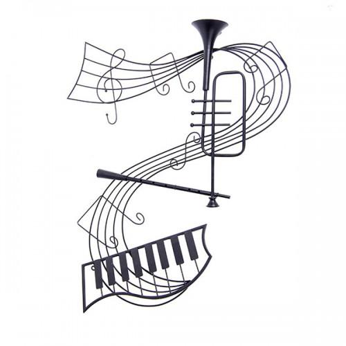 Интерьерное украшение Музыкальные инструменты 105х73 см