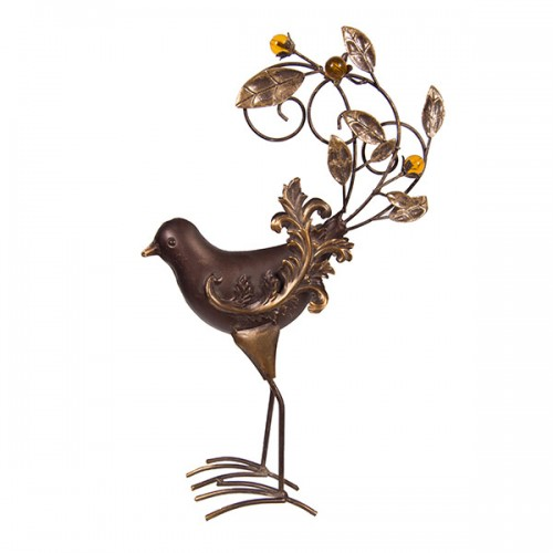 Статуэтка металлическая Птица 50х30х14 см