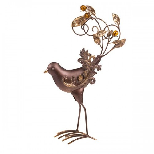 Статуэтка металлическая Птица 40х28х11 см