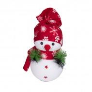 Новогоднее украшение Снеговик 36х20 см
