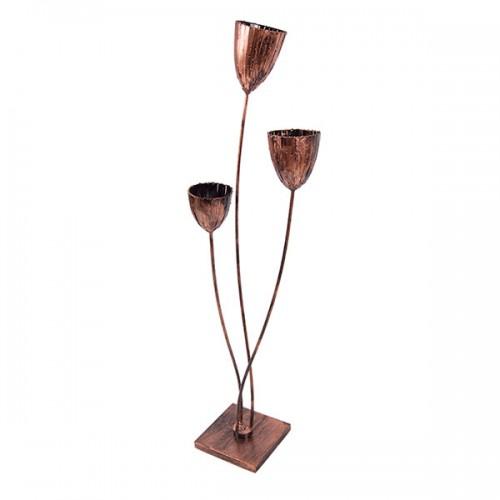 Подставка для цветов напольная Три чаши 150х40 см