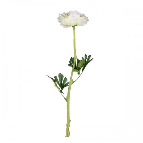 Цветок искусственный Лютик азиатский 67 см
