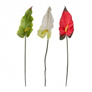 Цветок искусственный Антуриум 88 см