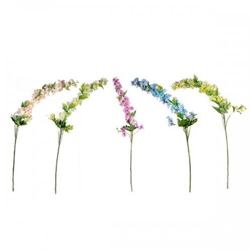 Цветы искусственные Дельфиниум 120 см