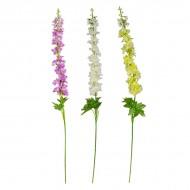Цветы искусственные Дельфиниум 102 см