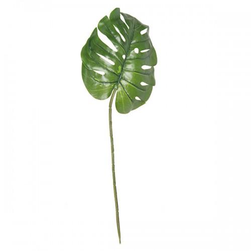 Цветок искусственный Лист Монстеры 59 см