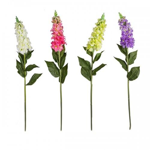 Цветок искусственный Левкой 98 см