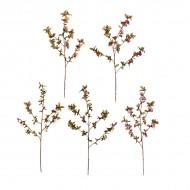 Ветка цветущая искусственная 87 см