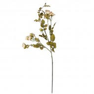 Искусственная Роза кустовая белая 95 см