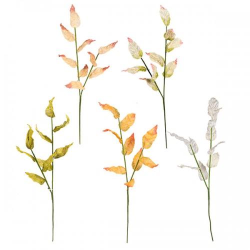 Ветка с листьями искусственная 90 см