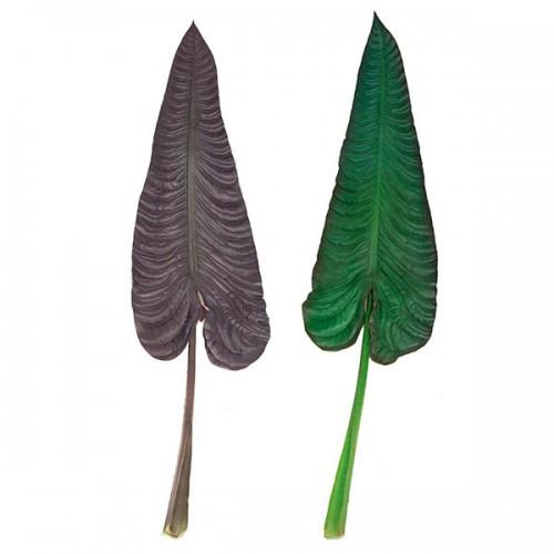 Лист Филодендрона искусственный 69 см