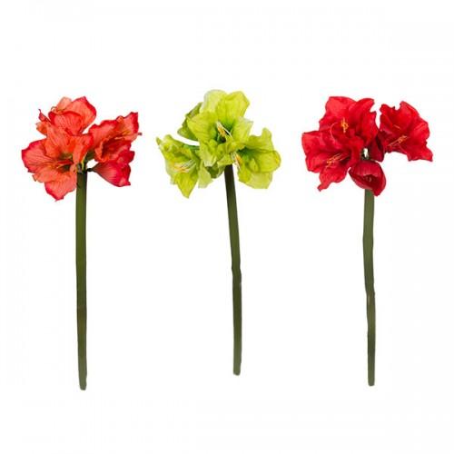 Цветок искусственный Гиппеаструм 102 см