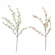 Ветка цветущая искусственная 114 см