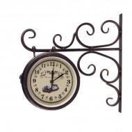 Часы на кронштейне 38х40х10 см