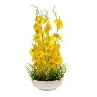 Букет иск. Орхидеи в вазе 42х16 см
