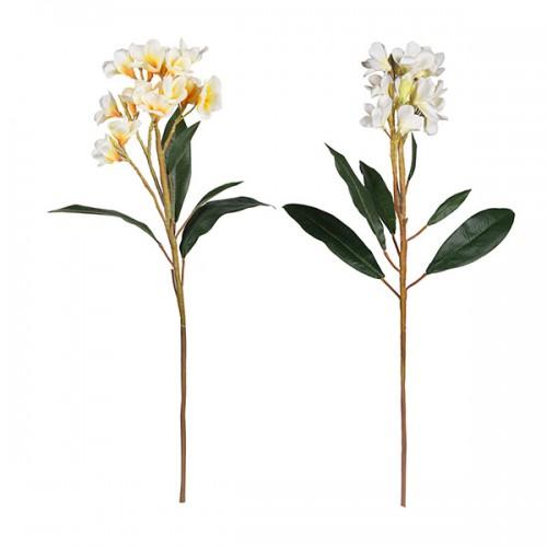 Цветок искусственный Плюмерия 88 см