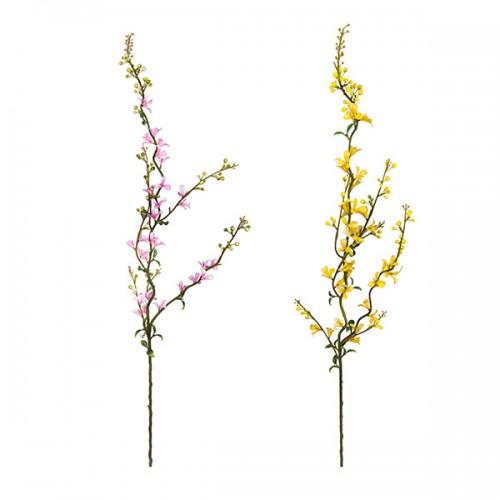 Ветка цветущая искусственная 90 см