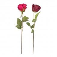 Роза цветущая искусственная 65 см