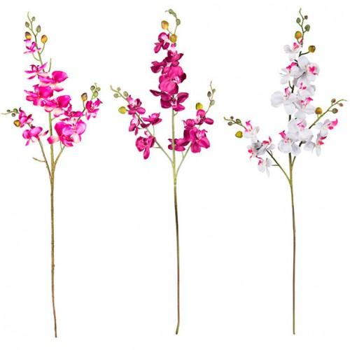 Цветок искусственный Орхидея 73 см