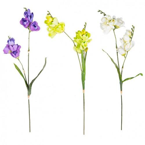 Цветок искусственный Фрезия 64 см
