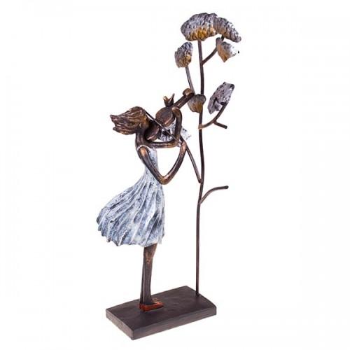 Статуэтка Девушка у дерева 48х15х9 см
