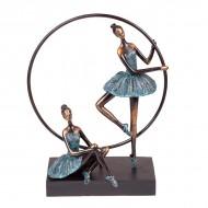 Статуэтка Балерины с кругом 37х28.5х13.5 см