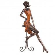 Статуэтка Девушка на стуле 36х27х12 см