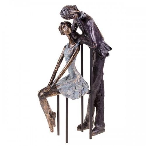 Статуэтка Пара влюбленных 33х18х10 см