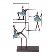 Статуэтка Три Балерины на подставке 46х27.5х10.5 см